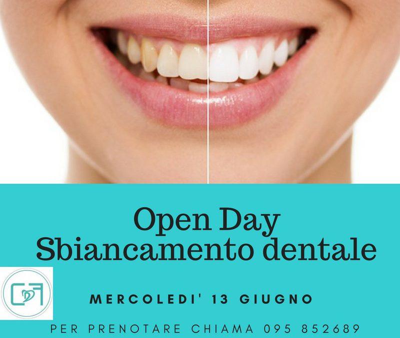 Open day dedicato allo sbiancamento dentale